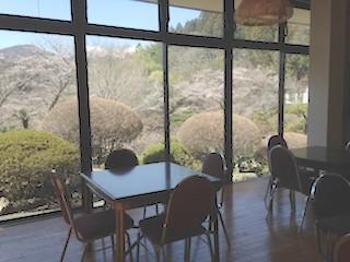 福島・南相馬市の旅館 抱月荘 朝食会場写真