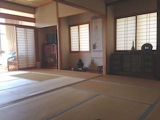 福島・南相馬市の旅館 抱月荘 和室写真